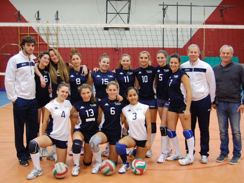 Stagione 2014-15 - GS Pino Volley Under 18 UISP - All. Luca Scalzo