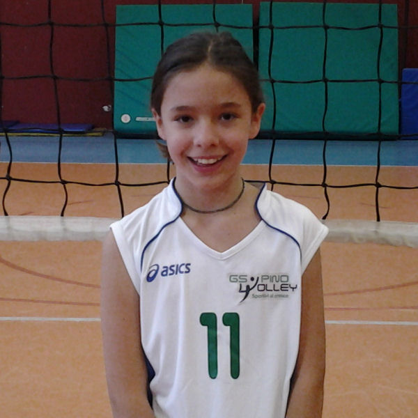 2014/15 GS Pino Volley U12 - n11 Alessandra S