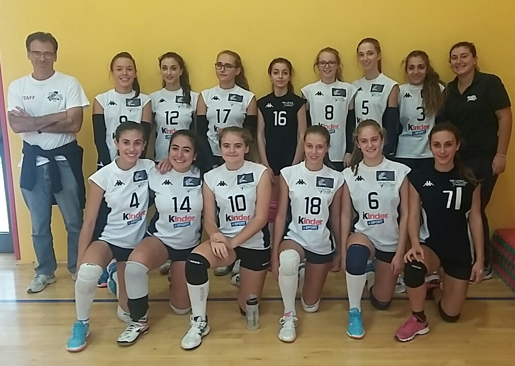 2017-18 GS PINO VOLLEY - UNDER 16 - All. Flavia Scomazzon