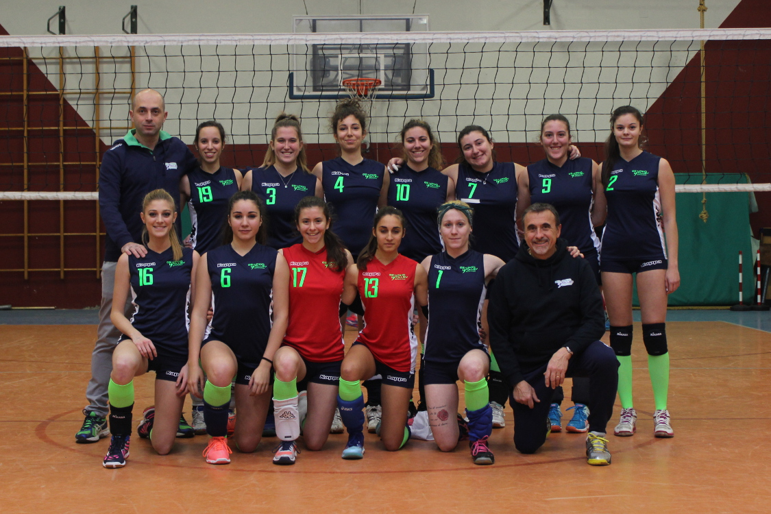 2017-18 GS PINO VOLLEY - PRIMA DIVISIONE - All. Giuseppe Mantisi