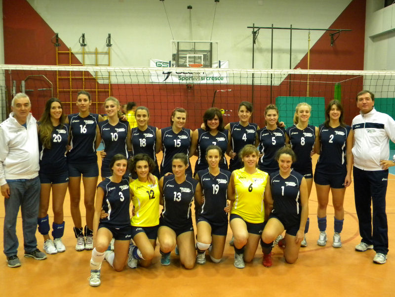 Stagione 2013/14 - GS Pino Volley - Prima Divisione - All. Luca Zerbini